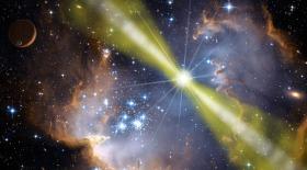 Гамма-телескоп Ферми изучает внегалактическое излучение